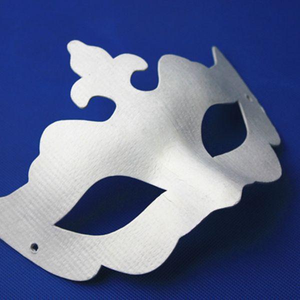 全脸男女纸浆空白面具