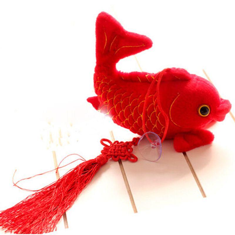 鲤鱼简笔画彩色头饰