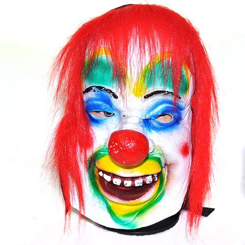 红发小丑面具头像