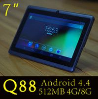 "2016 HOT 7"" A33 Quad Core Q88 Tablet Allwinner Android ..."