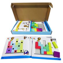 Block Puzzle Game Creative Intellectual Blocks Wooden Toys and Games for Kids Children Educational Games Birthdays Gifts for Kids Wholesale