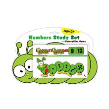 Caterpillar Number Study Set Level I Infant Toy Educational Games for Kindergarten Gift for Kids