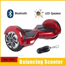 Bluetooth Smart Scooter Electric Skateboard LED Wings Smart Board 8 Inch Tyre Scooter Lithium Battery
