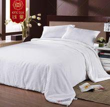 new arrive 100% cotton silk quilt summer blanket comforter silk blanket pure silk comforters stripe bedding sets