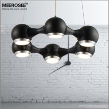 Modern LED Chandelier Ring Light Fitting 6 LED lights Circle Suspension hanging light 18 watt Prompt Shipping 100% Guanrantee