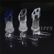 2015 Female 14mm Glass Dome And Nail Set For Glass Bong Nail Domewax Nail For Bongs In Stock Free Shipping YS-PJ002