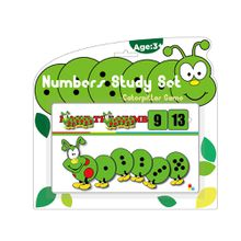 Caterpillar Number Study Set Level II Infant Toy Educational Games for Kindergarten Gift for Kids
