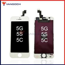 For iPhone 5 5S 5C LCD Display Touch Screen Digitizer Assembly Replacement Repair Parts by DHL free shipping
