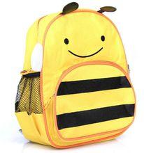 Kindergarten children's school bags cute cartoon shoulder bag 1-3-6 year old pupils