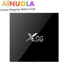Cheapest Factory price Amlogic S905X Top quality 2GB/16GB Android 6.0 TV box X96 Wifi HDMI 2.0A 4K*2K Kodi Media Player Set top box