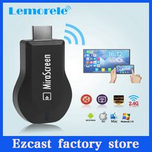 MiraScreen TV Stick Dongle Better Than EZCAST EasyCast Wi-Fi Display Receiver DLNA Airmirroring Chromecast Airplay With Retails Package DHL