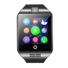 Bluetooth NFC Smart Watches Q18 Smartwatch Sync Support SIM Card GMS
