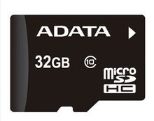adata 100pcs free dhl 32GB Micro SD SDXC Flash Memory Card Class 10 Micro SD With Adapter Retail Box