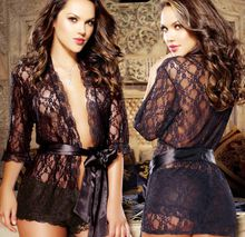 2015 Lace Baby Doll Time-limited Special Offer Erotic Lingerie Summer Style Babydoll Plus Size Sexy Strap Pajamas Underwear