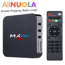 2016 MX PRO Amlogic S905 quad Core 4K google Android TV Box 5.1 1GB RAM + 8GB ROM HDMI 2.0 WIFI 4K 1080i