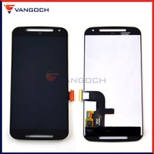 For Motorola Moto G2 XT1063 XT1064 XT1068 LCD without Frame Display Touch Screen Digitizer Assembly Free shipping