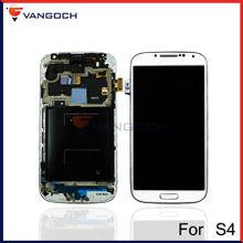 For Samsung Galaxy S4 i9500 i9505 I545 I337 i9502 LCD Display Touch Screen Digitizer Assembly with Frame Repair Replacement