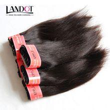 Short Human Hair Weave Bundles Grade 6A Unprocessed Brazilian Peruvian Malaysian Indian Cambodian Straight Hair 4/5/6/7/8 Pcs Cheap Hair