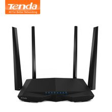 Tendac Wireless Router AC6 Dual Frequency 5G Gigabit Fiber Home Router High Speed wifi APP Management, English Firmware