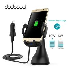dodocool Car Holder Fast Wireless Charger For Samsung Galaxy S8 / S8+ / S7 / S7 Edge / Note 5 / S6 / S6 edge /