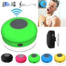 Mini Portable Waterproof Wireless Bluetooth Speaker Shower Car Handsfree Receive Call & Music Suction Phone Mic Free DHL