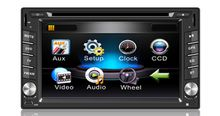 6.2inch with gps bluetooth+touch sreen universal 2 din car dvd player FOR all cars
