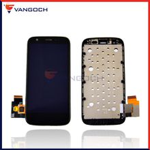 Best Quality For Motolora Moto G LCD XT1032 XT1033 Screen Replacement Assembly with Frame Free shipping