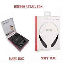 HBS-800 Wireless Headphone Earphone Bluetooth Stereo headset Wireless earphone sport headphone For Smartphone without logo with Retail Box