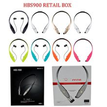 HBS 900 Fashion Electronic Bluetooth Headphones Wireless Sport Headset For LG Apple Samsung Cell phone DHL