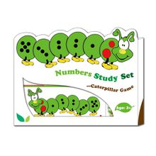 Caterpillar Number Study Set Infant Toy Educational Games for Kindergarten Gift for Kids