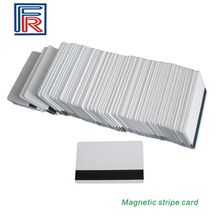 3Track Hi-Co Blank PVC Magnetic Stripe Card with CR80 ISO standard size printable