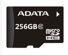 ADATA 100pcs free dhl 256GB Micro SD SDXC Flash Memory Card Class 10 Micro SD With Adapter Retail Box