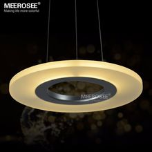 Acrylic Round Ring Lighting Fixtures LED Pendant Lights for Bedroom Bathroom Kitchen Suspension LED Lustre