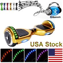 LED Lights Self-balancing Scooter Bluetooth Speaker Electric Scooters Key Remote Control Smart Board Free Carry Bag Drifting Board