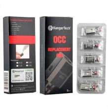 Kanger Vertical Occ Coils 0.5 1.2 1.5ohm Clone Upgraded Fit Kangertech Subtank Mini v2 Plus Nano Atomizers Tank Free Shipping