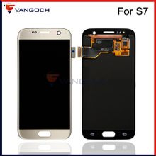 Grade A+++ Original LCD For Samsung Galaxy S7 SM-G930A SM-G9300 Display Touch Screen Digitizer Assembly Replacement Repair