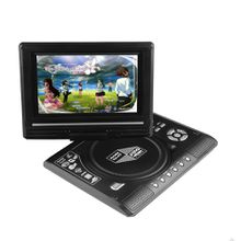 Ultra-thin high-definition 7.8-inch mobile DVD with small TV function 270 degree rotating screen game disc + game console