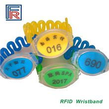 13.56MHz I-code2 RFID wristband,ISO15693 waterproof RFID Bracelet for access control/events/NFC