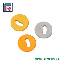 PPS RFID 125KHz ID laundry tags/High temperature washing label Read-only