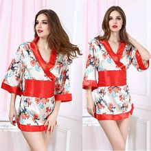 Babydoll Satin Baby Doll Lingerie Embroidery Special Offer 2015 Real Sexy Underwear Plus Size Wholesale Japanese Kimono Robe Big