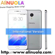 "Instock! Meizu M3 Note [International Edition] 5.5"" Android 5.1 MTK Helio P10 Octa Core 4100mAh Fingerprint Cell Phone"