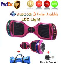 Chrome Scooters LED RGB Scooter Bluetooth Speaker Scooters High-performance Lithium Battery Scooters Key Remote