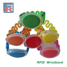 NTAG203 NFC ABS wristband 13.56MHz RFID bracelet for NFC/E-ticket/access control