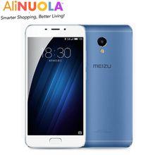 Original Meizu M3E MEILAN E 5.5 inch 2.5D FHD 1080P MTK Helio P10 Octa Core 3GB RAM 13.0MP Camera Cell Phone Fingerprint
