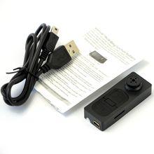 Black mini camera NEW Mini spy button camera Hidden DV Camera Button Video PC Spy DVR Voice Recorder HD DVR Cam 1280*960 A0060