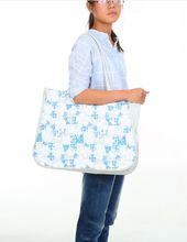 Summer beach bag shoulder bag Korean version of the thick waterproof pvc fashion summer beach bag hand handbag shoulder bag shopping