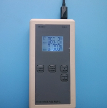 Digital display battery tester