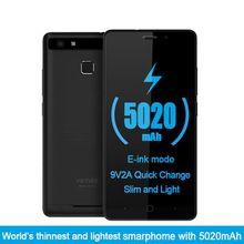 4G Mobile Phone 5.0 inch HD IPS MT6753 Octa Core Android 7.0 3GB RAM 16GB ROM Fingerprint ID WiFi Bluetooth GPS