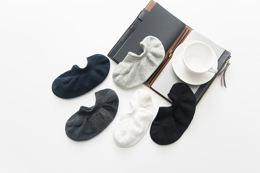 New Men's Pure Monochrome Cotton Socks, Boat Socks, Invisible Socks and Leisure Socks