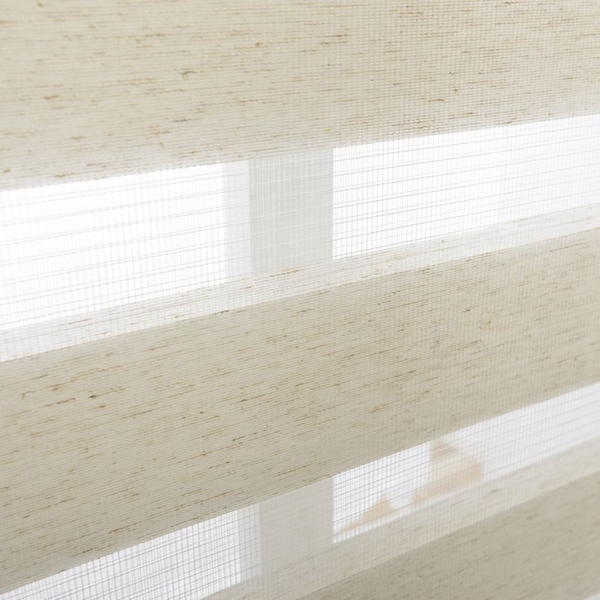 Zebra Blinds Double Layer Roller Blinds Translucent Curtain Custom Made Shade for Living Room Bedroom GY01-012